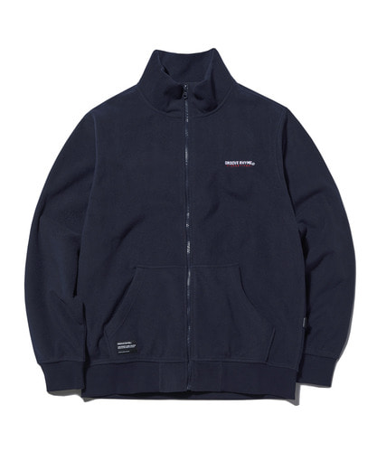 2018 POLAR FLEECE FULL ZIP-UP (NAVY) [GFZ007G43NA]