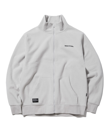 2018 POLAR FLEECE FULL ZIP-UP (LIGHT GRAY) [GFZ007G43LG]