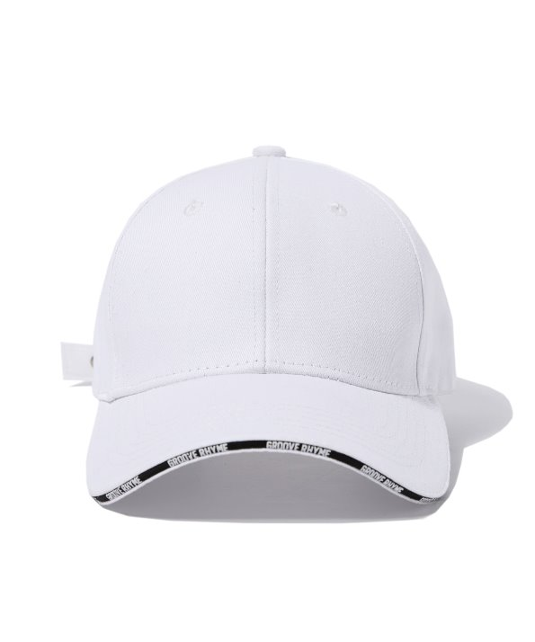 CROSS BALL CAP (WHITE) [GCA007G13WH]