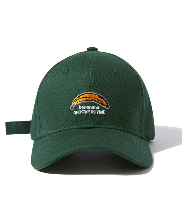 BANANA LOGO BALL CAP (FOREST) [GCA004G13FO]