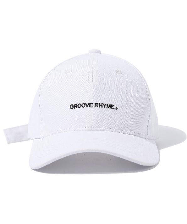BUCKLE BALL CAP (WHITE) [GCA001G13WH]