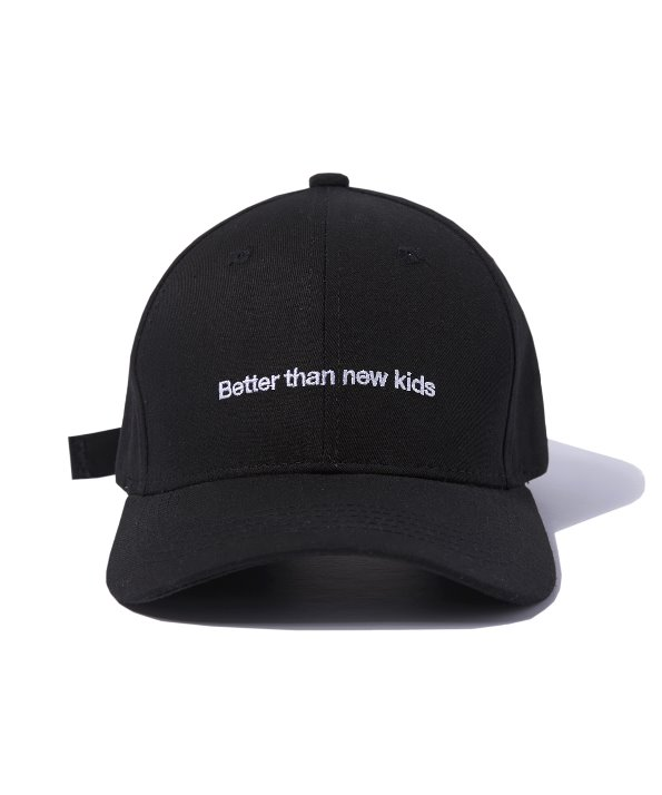 BUCKLE BALL CAP (BLACK) [GCA009G13BK]